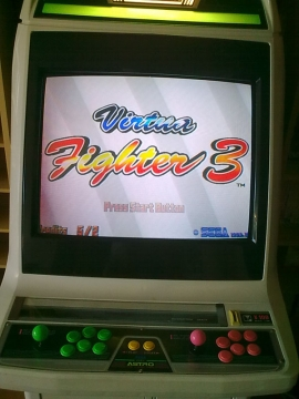 Virtua Fighter 3 - title screen