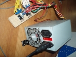 Virtua Fighter 3 harness and PSU, PSU and distribution