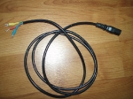 Virtua Fighter 3 harness and PSU, AC power cable