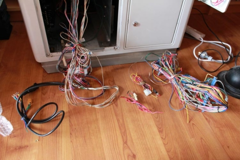 Before rewiring 6