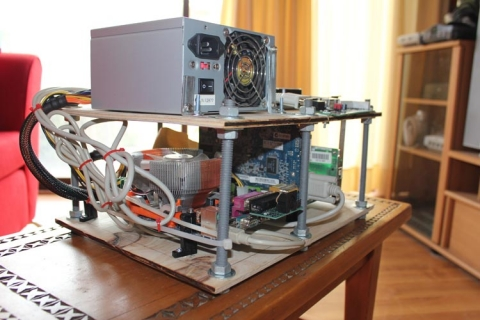 MAME PC mounted 3