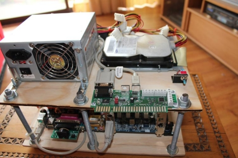 MAME PC mounted 5