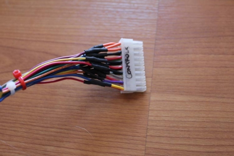 JAMMA harness - controls connection (1)