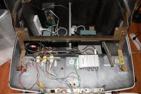 Control panel rewiring