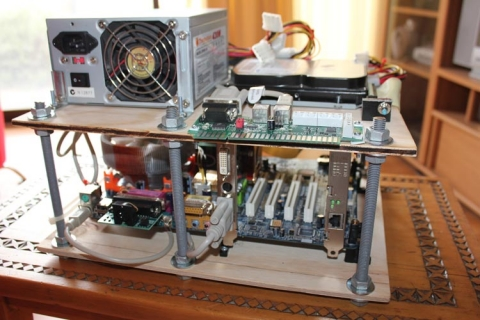 MAME PC mounted 1