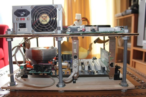 MAME PC mounted 2
