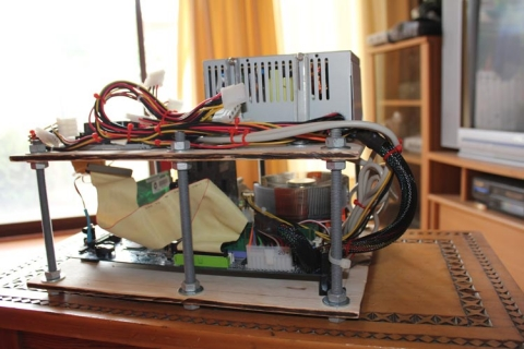 MAME PC mounted 4