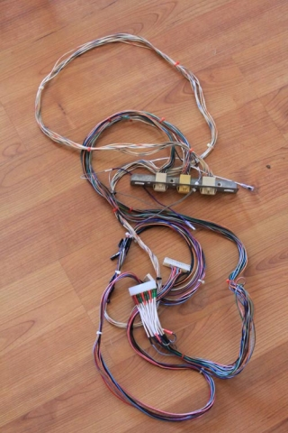 JAMMA harness - control panel wiring