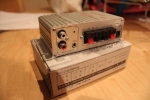 Mini stereo amp - rear