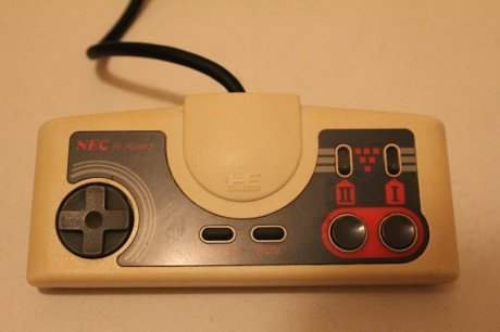 PC Engine controller - after clean