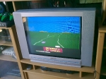 Enduro on the Atari 2600, morning