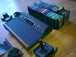 Woodgrain Atari 2600 - yet more pics!