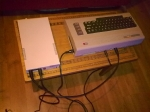 C64 hooked up with FDD!