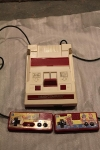 Famicom unboxing - top view