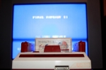 Famicom tuned in - front view