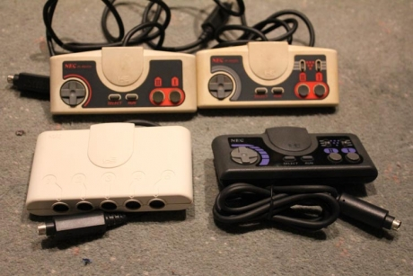 Assorted PC Engine controllers