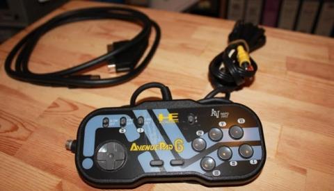 PC Engine Duo-R - NEC Evenue 6 pad and accessories