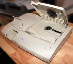 PC Engine Duo-R - angled shot, latches open