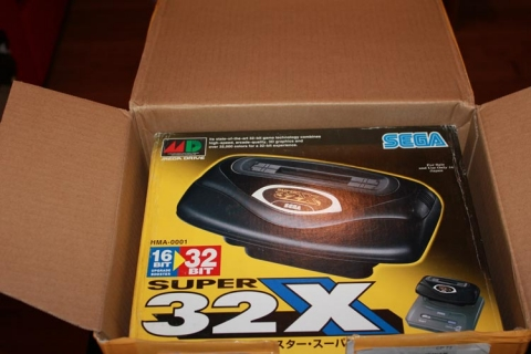 32X unboxing - first view!