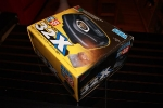 32X unboxing - angle view of the box
