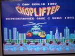 1 November 2009 - Sega Master System, Choplifter, title screen