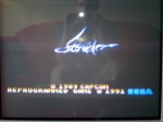 1 November 2009 - Sega Master System, Strider, title screen
