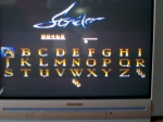 1 November 2009 - Sega Master System, Strider, high score screen