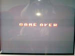 1 November 2009 - Sega Master System, R-Type, Game Over screen