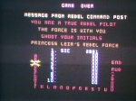 11 October 2009 - Commodore 64, Star Wars, High Score table