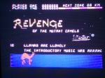 11 October 2009 - Commodore 64, Revenge of the Mutant Camels, title screen