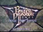 16 November 2009 - Sega Saturn, Panzer Dragoon 2 - Title screen