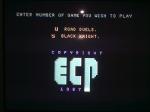 22 September 2009 - C64, ECP Menu
