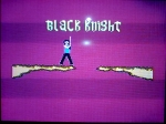 22 September 2009 - C64, Black Knight title screen