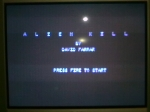 22 September 2009 - C64, Alien Kill title screen