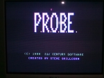 22 September 2009 - C64, P.R.O.B.E title screen