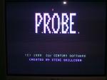22 September 2009 - C64, P.R.O.B.E title screen
