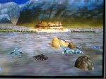 Gaming sessions 25 May 2010 - Sega Saturn, Panzer Dragoon Saga, Omake - Dermot\'s ranch (2)