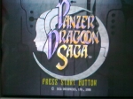 Gaming sessions 25 May 2010 - Sega Saturn, Panzer Dragoon Saga, Title screen