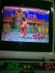 27 September 2009 - Arcade (CPS-I), SF2:CE, boss fight end of round 1