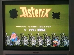 4 January 2009 - Sega Master System, Asterix