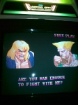 Gaming sessions Easter 2010 - Arcade, Super Street Fighter 2, vs Guile (4)