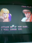 Gaming sessions Easter 2010 - Arcade, Super Street Fighter 2, vs Ryu again (4)