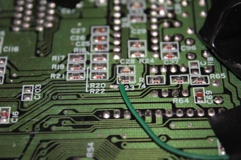 60hz colour switch - original oscillator input