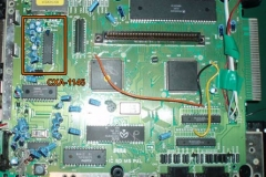 Hardware modifications - Sega Mega Drive Colour Correction