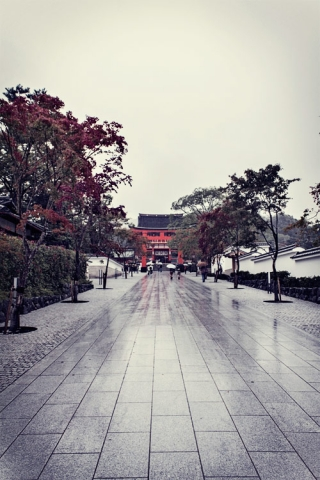 Day 6 - Fushimi Inari Shrine entrance