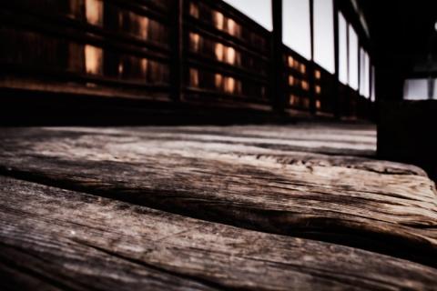 Day 6 - Nijo Castle floorboards