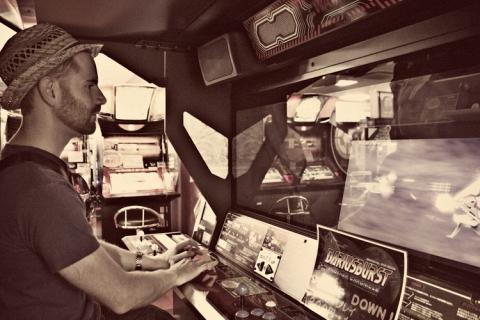 Day 8 - Darius Burst at Taito Game Station