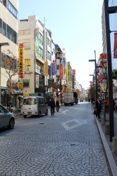 Day 2 - Mitaka Streets on foot
