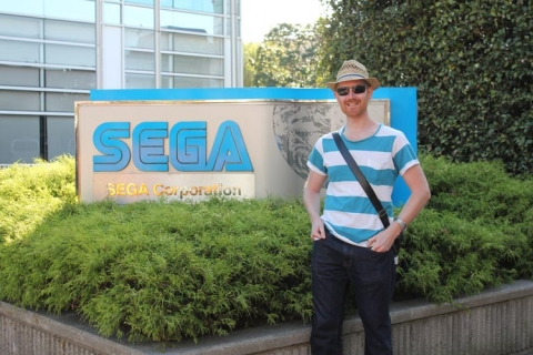 Day 2 - Sega building entrance