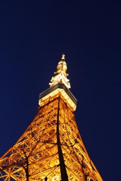 Day 3 - Tokyo Tower (close up)